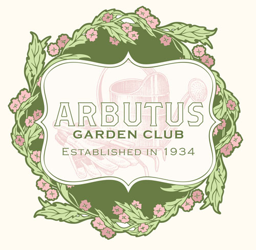 Arbutus Garden Club marker at the Benjamin Harrison Presidential Site